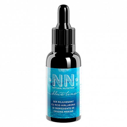 Rejuvenating serum with hyaluronic acid and marine ingredients