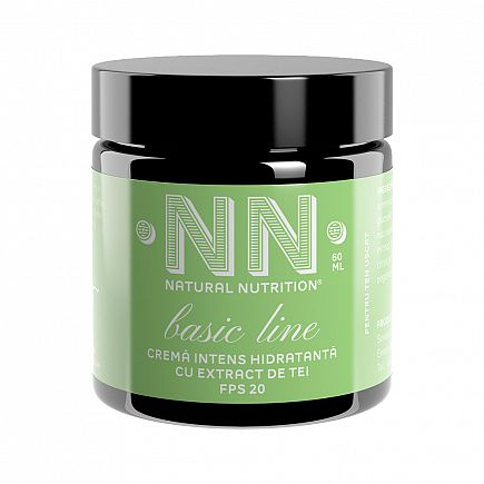 Intensive moisturizing cream with linden extract for dry skin - SPF 20