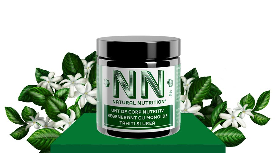 Nourishing-regenerating body butter with tahiti monoi and urea (120 ml)